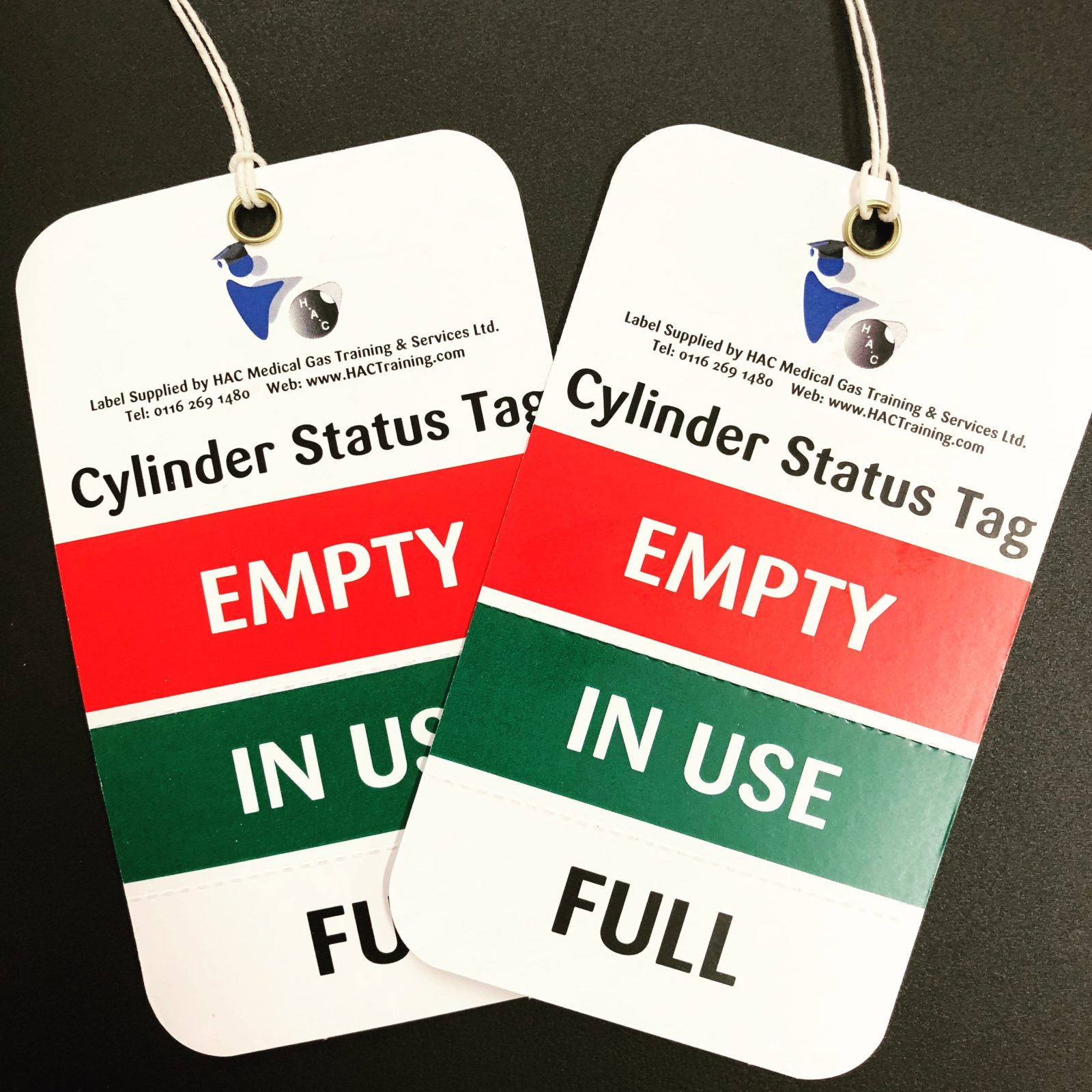 Cylinder Status Tag